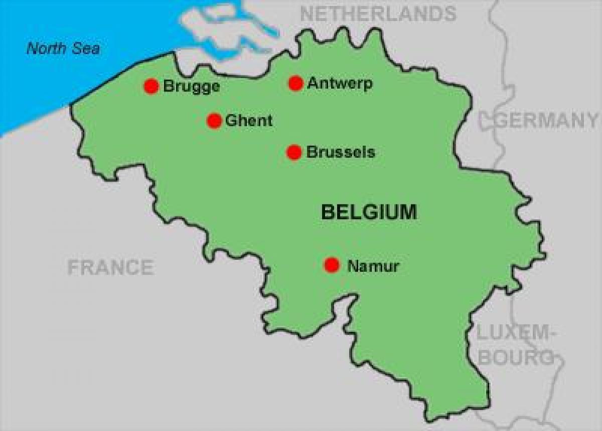 Antwerp Belgium map - Street map of antwerp Belgium (Western Europe ...
